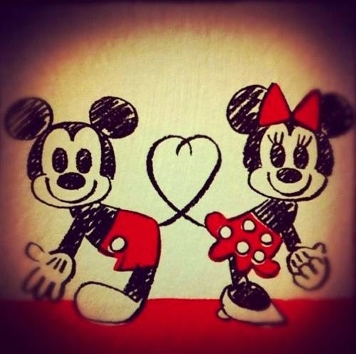 Love Couple Wallpapers For Facebook Profile Picture Mickey
