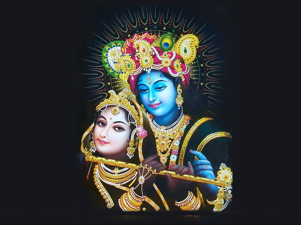 Lord Krishna Images Free Download Krishna With Radha Cowflute