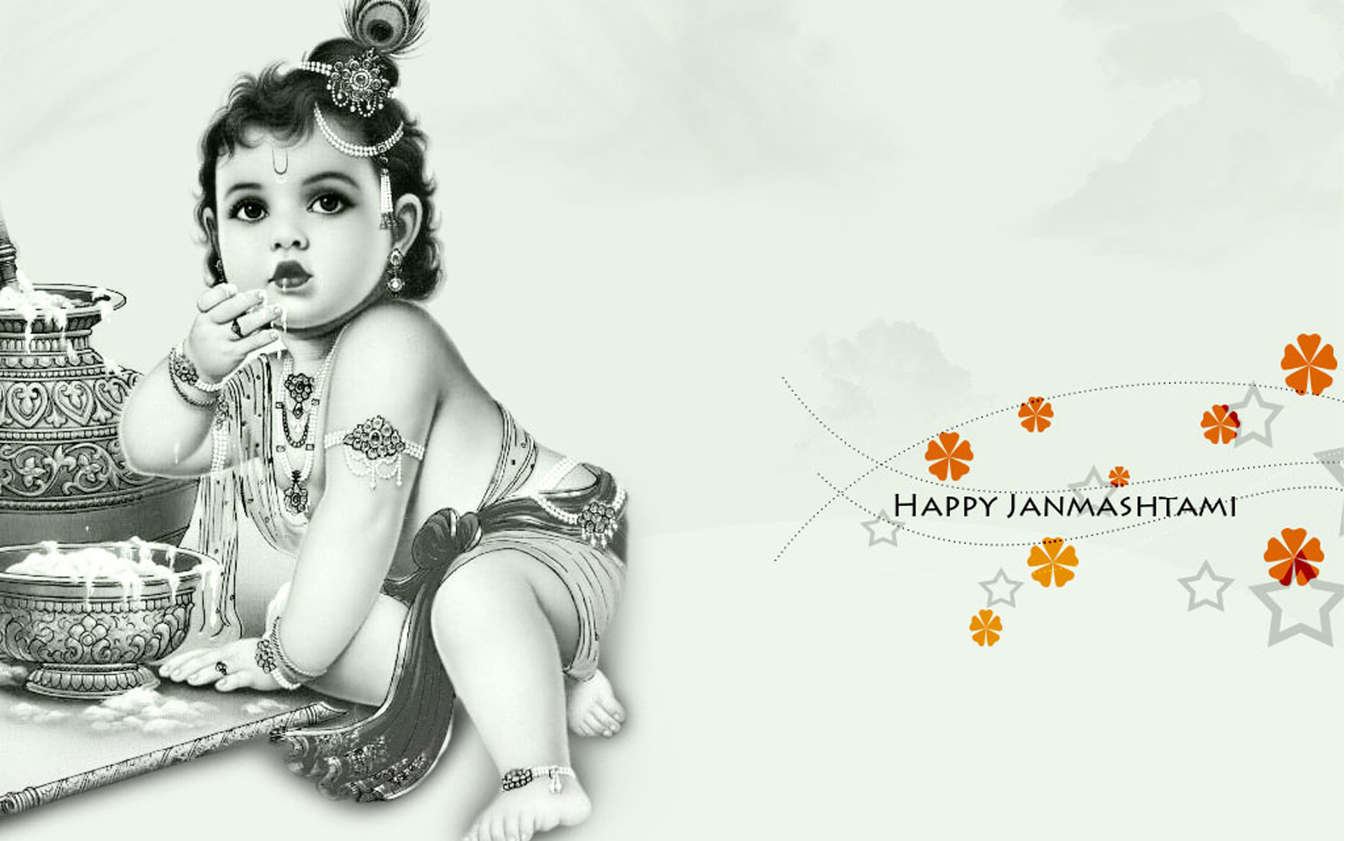 lord krishna with flute images